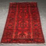 Persisk Zandjan tæppe, 310x105 cm.
