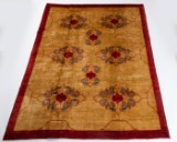 Carpet, 'Ozbeki Pamir' design by Loomier, Afghanistan, approx. 265 x 200 cm
