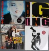 Samling diverse plader LPer, singler, Maxisingler samt 78ere (11 kasser)