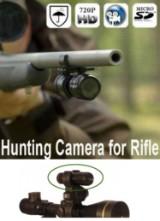 Riffelkamera med gevær- & kikkertbeslag- HD - Incl. 8 GB SD Card