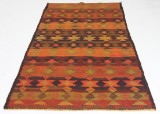 Orientalisk flatvävd matta, Harsin Kelim, 240x125