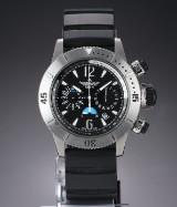 Jaeger-LeCoultre 'Master Compressor Diving'. Men's chronograph in steel, c. 2010