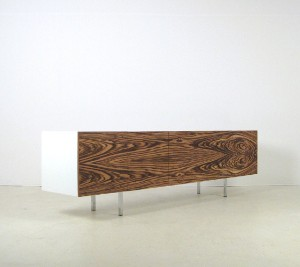 Sideboard Berlin thilo mayr sideboard lowboard with zebrano front for sd berlin