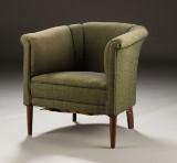 Dansk møbelproducent, lænestol, 1940'erne