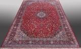 Stort medaillontæppe, Keshan. Persien. 560 x 355 cm.