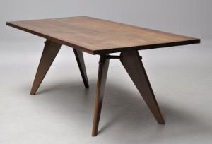 jean prouv 39 em table 39 fra vitra rg 2013. Black Bedroom Furniture Sets. Home Design Ideas