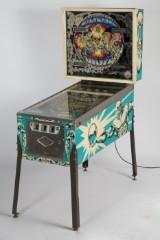 Spilleautomat / Flipper 'Silverball', pinball, fremstillet hos Bally / Wulff Automaten, 70'erne