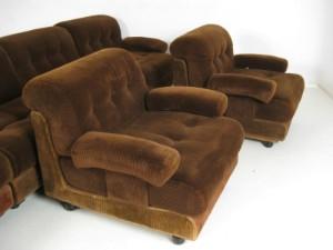 vara 4034287 lounge sofas elemente sofa system der 1960 70er jahre 7. Black Bedroom Furniture Sets. Home Design Ideas