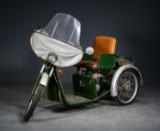 Puch Trilette, 2 gears automatisk, ca. 1970-1972
