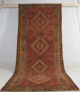 Orientteppich Kelim, Persien, ca. 390 x 150 cm