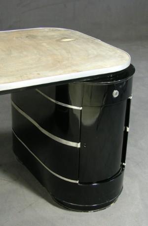 m bel schreibtisch der firma mauser modell 39 k ln 39 1950er jahre de hamburg. Black Bedroom Furniture Sets. Home Design Ideas