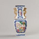 Vas i porslin Kina 1700-tal