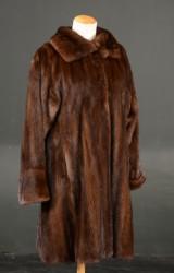 Fur coat, mink, approx. 38-40