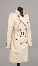 Burberry kort dame trench-coat str. 8 /36