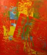 Antoine Klinkhamer, oliemaleri 'Ohne Titel'