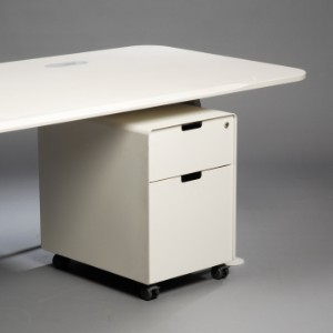 m bel jasper morrison schreibtisch atm desk 220 mit rollcontainer f r vitra 2. Black Bedroom Furniture Sets. Home Design Ideas