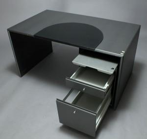 Montana. Skrivebord samt sidebord/skuffemodul (2) | Lauritz.com