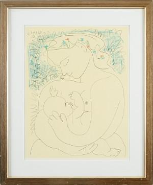 Pablo Picasso Maternité | Lauritz.com