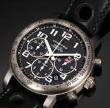 Chopard 'Mille Miglia'. Men's chronograph in titanium with original strap and clasp, 2006