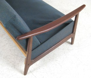 Lot 4294796 daybed lounge sofa der 1950 60er jahre for Couch 60 jahre