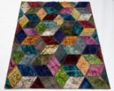 Kelim, design 'Revive Vintage Patch' fremstillet hos Loomier, ca. 214 x 158 cm