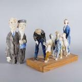 Birgitta Ahlberg-Lindkvist skulpturer
