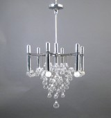 A chandelier from the 1960s/1970s, probably Sciolari