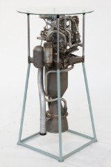 Alexei M. Isayev, rocket engine as standing table
