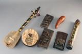 Samling afrikanske instrumenter (7)