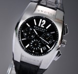 Bvlgari 'Ergon'. Automatic men's chronograph, steel with date