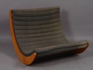 m bel verner panton relaxer 2 sitzer schaukelstuhl dk herlev dynamovej. Black Bedroom Furniture Sets. Home Design Ideas