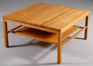 Soffbord Kalksten : Slutpris för g a d soffbord massiv björk och