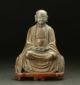 Bronze Buddha, China, 17th-18th century