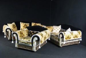 m bel gianni versace gro e sitzgruppe 3 de. Black Bedroom Furniture Sets. Home Design Ideas