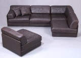 De Sede. Fritstående modul-sofa, model DS 76 med sovesofa funktion. (5)