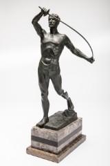 Ludwig Graefner, 'Fechter', bronze