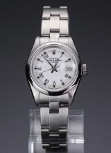 Rolex Oyster Perpetual Date, damearmbåndsur ref. 69160