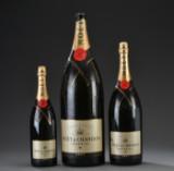 Tre flasker Möet Chandon til udstillingsbrug (3)