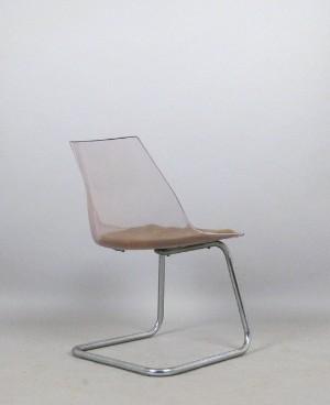 vara 3981437 plexi acryl freischwinger stuhl der 1960 70er jahre. Black Bedroom Furniture Sets. Home Design Ideas
