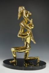 Robbi Jones, erotisk skulptur, 'Lady on Devil'