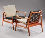 Finn Juhl. Teak easy chair, model 133, 'Spadestolen' (2)
