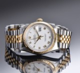 Rolex Oyster Perpetual Datejust. Herrearmbåndsur