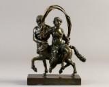 Fransk empire bronze figur starten af 1800 tallet