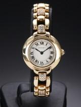Cartier 'Special Edition'. Dameur i 18 kt. guld med brillanter, ca. 1990'erne