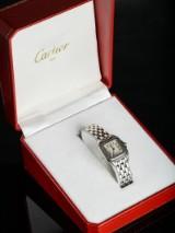 Cartier Panthere - steel ladies' wristwatch