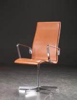 Arne Jacobsen. Oxford armchair, model 3273, Red Label