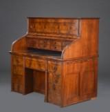 Amerikansk skrivebord af mahogni, 1800-tallets slutning