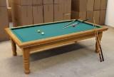 Billiards / carambole table with accessories, Ch Bruns Snickeri
