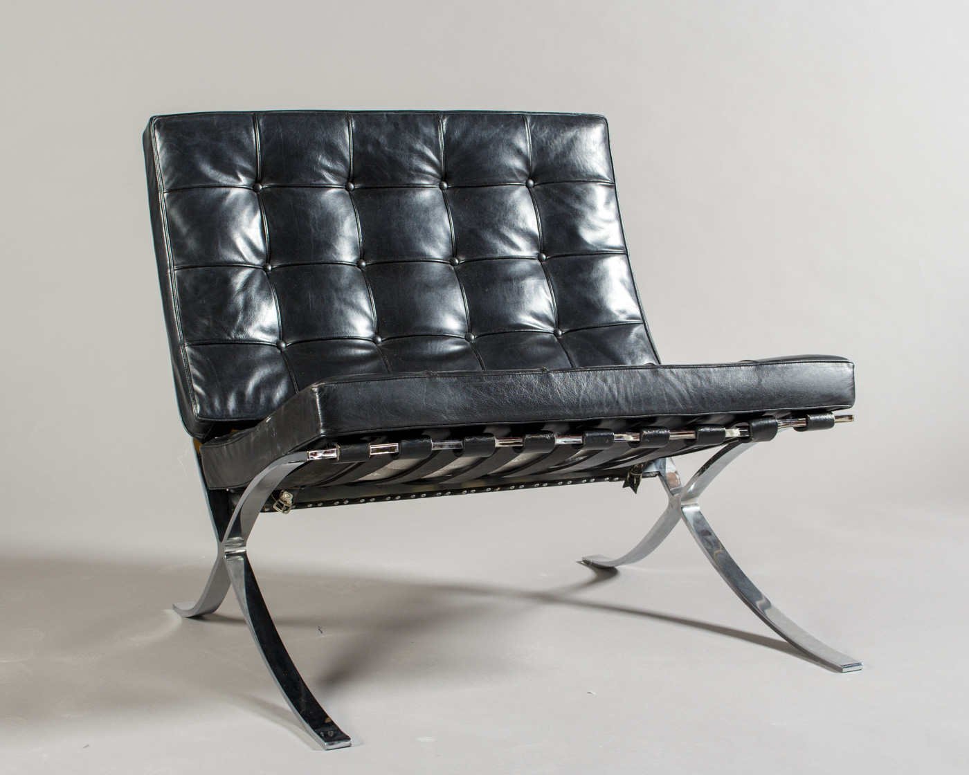 Wunderbar Ludwig Mies Van Der Rohe, A Lounge Chair, Model Barcelona By Knoll  International | Lauritz.com