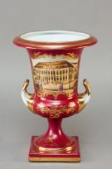Prydvase af porcelæn, Sevrès-stil